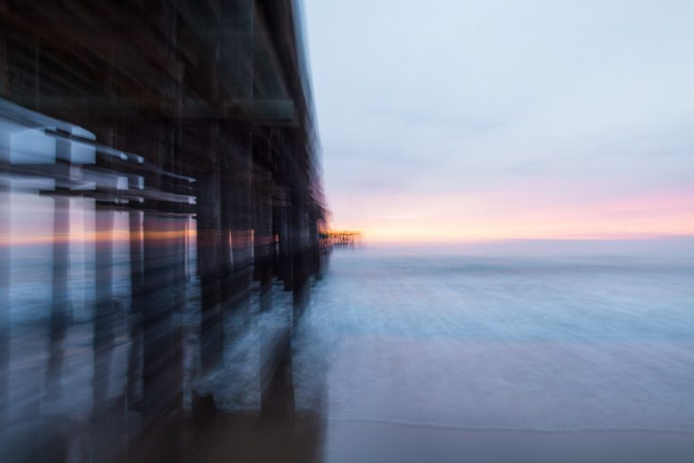 ventura, beach, the pier, ventura photographer, blur